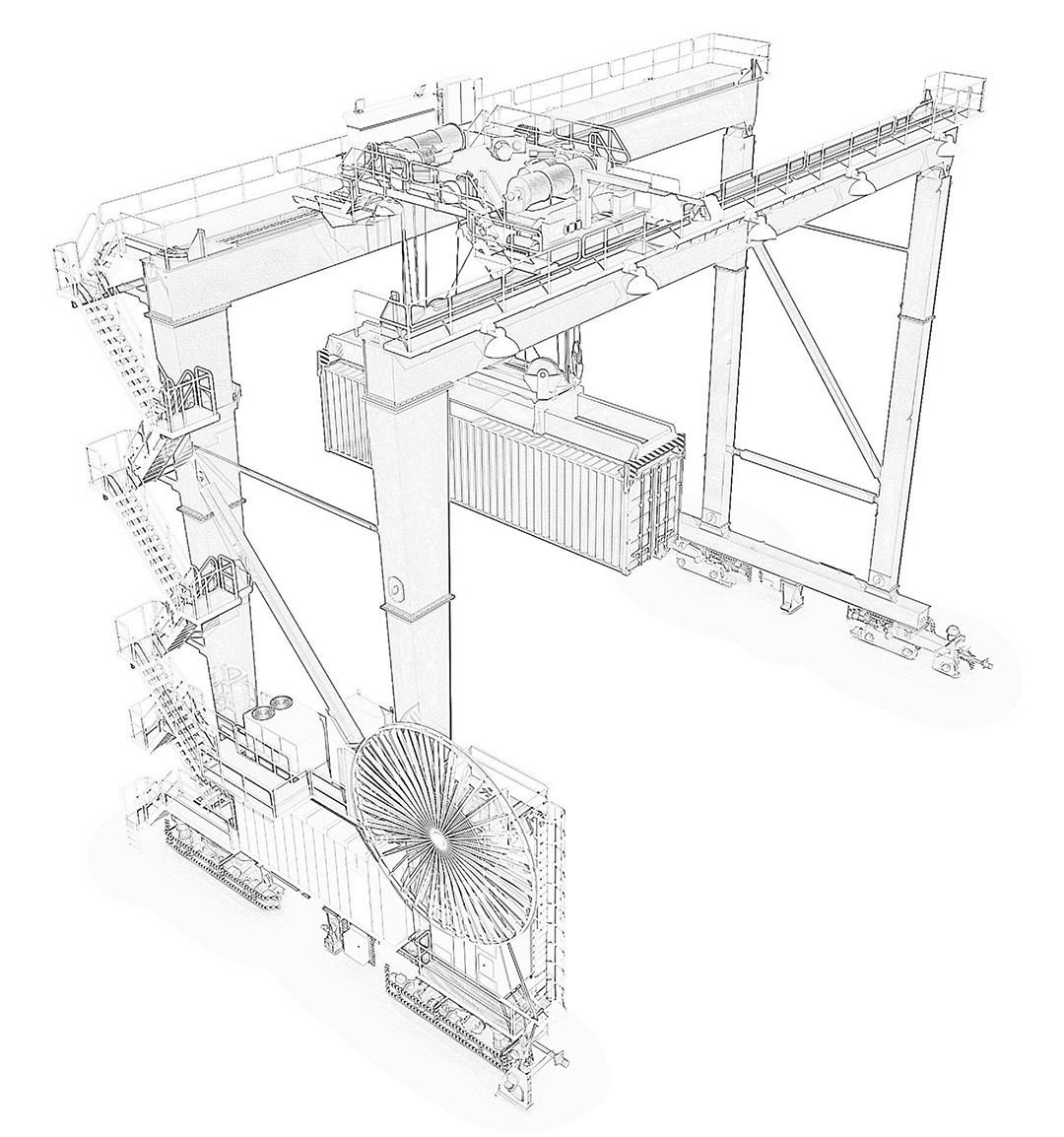 Overhead Crane Electrical Wiring Diagram The Best Wiring